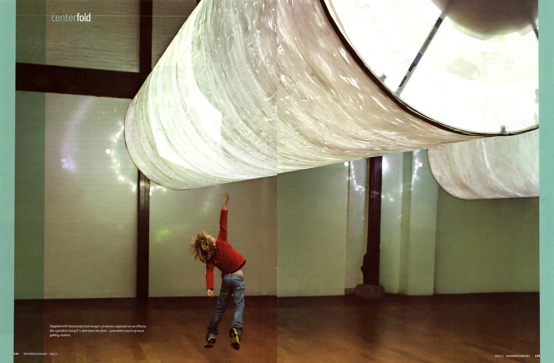 Interior Design Magazine Centerfold Photo